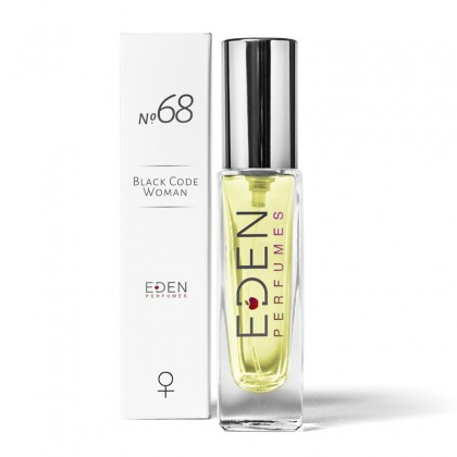No.68 Black Code Woman - Floral (30ml) Women's